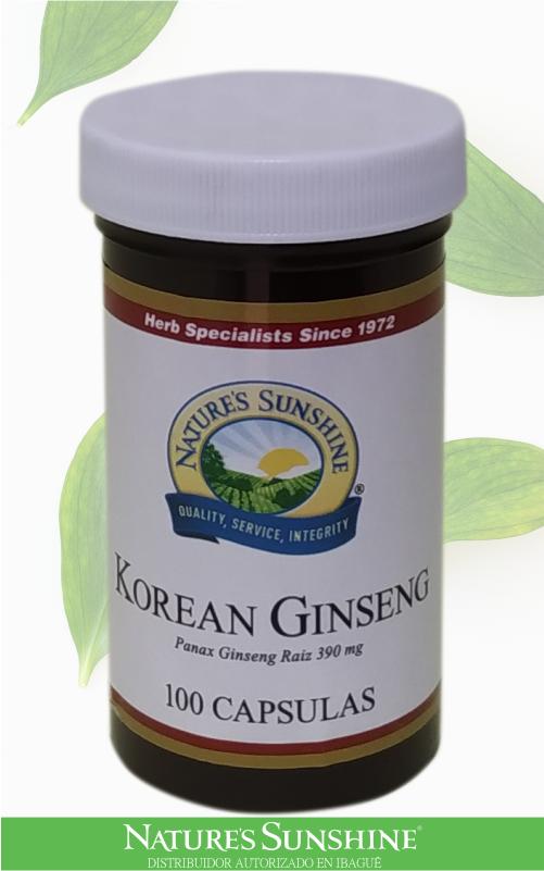 Nature's Sunshine - korean ginseng