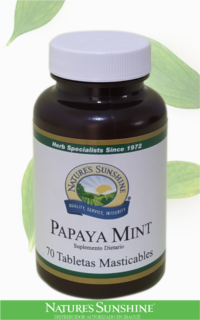 Nature's Sunshine - papaya mint